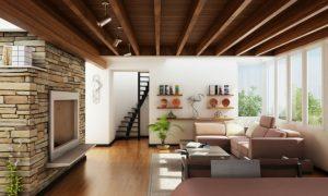 diseño-interiores-techo-madera